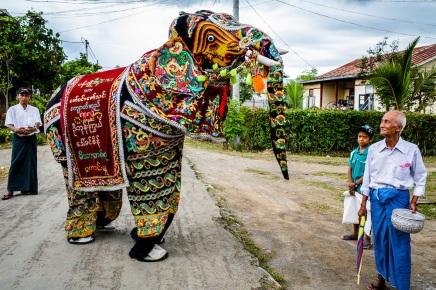 Elephant Festival, Inle Lake, Myanmar